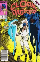Cloak and Dagger (1985-1987) #4 Variant C: 75 Cent Variant