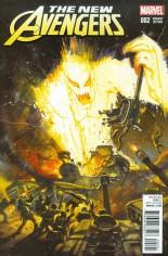 New Avengers (2015-Present) #2 Variant B: Kirby Monster Variant Cover
