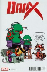 Drax (2016-Present) #1 Variant C: Baby Cover