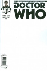 Doctor Who: 8th Doctor #1 Variant C: Blank Cover