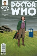 Doctor Who: 8th Doctor #1 Variant D: Incentive Variant Cover