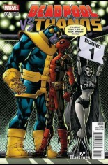 Deadpool vs Thanos #1 Variant H: Hastings Variant
