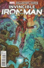 Invincible Iron Man (2015-2016) #1 Variant Y: Marvel Collector Corps Variant