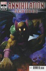 Annihilation Scourge Alpha #1 Variant D