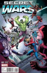 Secret Wars (2015-2016) #1 Variant ZM: SuperHeroStuff Exclusive