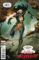 All-New Wolverine (2016-2018) #1 Variant E: Incentive Variant Cover