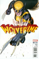 All-New Wolverine (2016-2018) #1 Variant H: Incentive Variant Cover