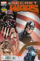 Secret Wars (2015-2016) #7 Variant B: Midtown Exclusive Variant Cover
