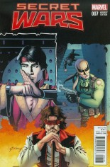 Secret Wars (2015-2016) #7 Variant G: Incentive Classic Variant Cover