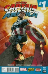 All-New Captain America (2015) #1 Variant R: 2nd Printing