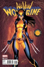 All-New Wolverine (2016-2018) #1 Variant I: Cargo Hold Variant Cover