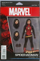 Spider-Woman (2016-Present) #1 Variant C: Action Figure Cover