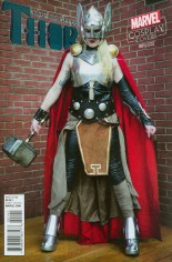 Mighty Thor (2016-2017) #1 Variant D: Incentive Cosplay Variant Cover