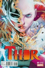 Mighty Thor (2016-2017) #1 Variant E: Incentive Variant Cover