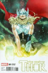 Mighty Thor (2016-2017) #1 Variant G: Incentive Variant Cover