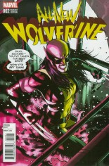 All-New Wolverine (2016-2018) #2 Variant B: Incentive Variant Cover