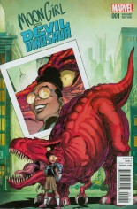 Moon Girl And Devil Dinosaur (2016-Present) #1 Variant C: Incentive Variant Cover