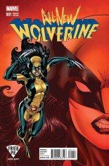 All-New Wolverine (2016-2018) #1 Variant K: Fried Pie Variant