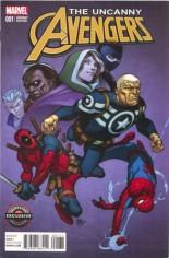 Uncanny Avengers (2015-Present) #1 Variant G: GameStop Exclusive