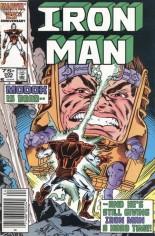 Iron Man (1968-1996) #205 Variant A: Newsstand Edition