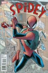 Spidey (2016-2017) #1 Variant D: Incentive Variant Cover