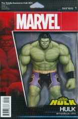 Totally Awesome Hulk #1 Variant C: Action Figure Cover