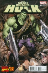 Totally Awesome Hulk #1 Variant D: Incentive Marvel '92 Variant Cover