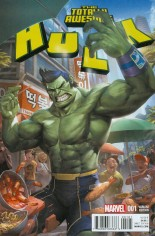 Totally Awesome Hulk #1 Variant F: Incentive Variant Cover