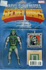 Secret Wars (2015-2016) #8 Variant C: Action Figure Cover