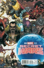 Secret Wars (2015-2016) #8 Variant D: Connecting Cover