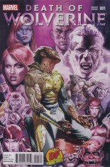 Death of Wolverine (2014) #1 Variant V: DF Exclusive