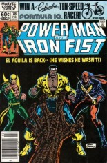 Power Man and Iron Fist (1978-1986) #78 Variant A: Newsstand Edition