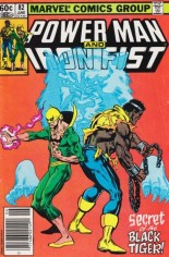 Power Man and Iron Fist (1978-1986) #82 Variant A: Newsstand Edition