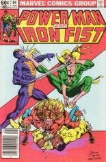 Power Man and Iron Fist (1978-1986) #84 Variant A: Newsstand Edition