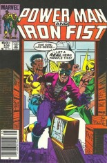 Power Man and Iron Fist (1978-1986) #105 Variant A: Newsstand Edition