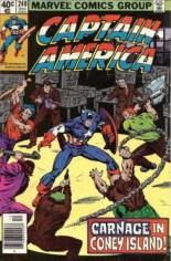 Captain America (1968-1996) #240 Variant A: Newsstand Edition