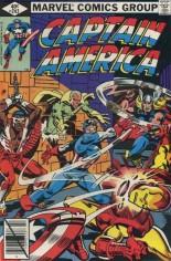 Captain America (1968-1996) #242 Variant B: Direct Edition