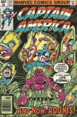 Captain America (1968-1996) #243 Variant A: Newsstand Edition