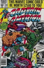 Captain America (1968-1996) #249 Variant A: Newsstand Edition