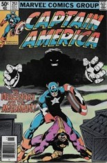Captain America (1968-1996) #251 Variant A: Newsstand Edition