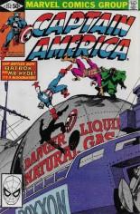 Captain America (1968-1996) #252 Variant B: Direct Edition