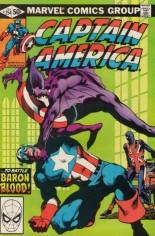Captain America (1968-1996) #254 Variant B: Direct Edition