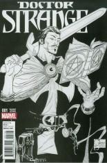 Doctor Strange (2015-2017) #1 Variant L: Incentive Sketch Variant Cover