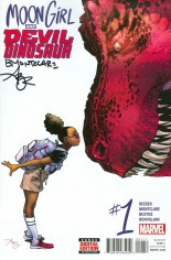 Moon Girl And Devil Dinosaur (2016-Present) #1 Variant D: Signed Edition
