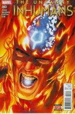 Uncanny Inhumans (2015-Present) #3 Variant A