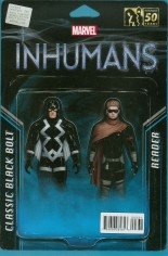 Uncanny Inhumans (2015-Present) #3 Variant B: Action Figure Two-Pack Cover