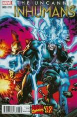 Uncanny Inhumans (2015-Present) #3 Variant C: Incentive Marvel '92 Variant Cover