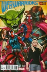 Web Warriors (2016-Present) #2 Variant B: Incentive Marvel '92 Variant Cover