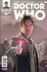 Doctor Who: 8th Doctor #2 Variant B: Subscription Cover