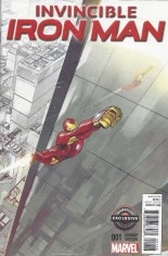 Invincible Iron Man (2015-2016) #1 Variant ZD: GameStop Variant